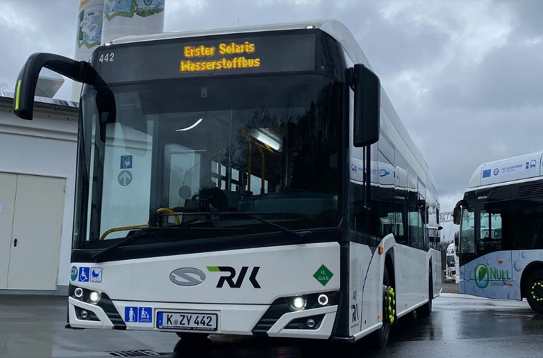 fuelcellsworks, First Solaris Fuel Cell Bus Delivered to RVK