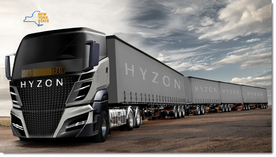 Governor Cuomo Announces HYZON Motors to Expand US Operations in Monroe County