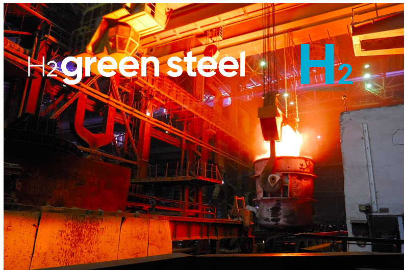 H2 Green Steel to Build Large scale Fossil free Steel Plant in Northern Sweden