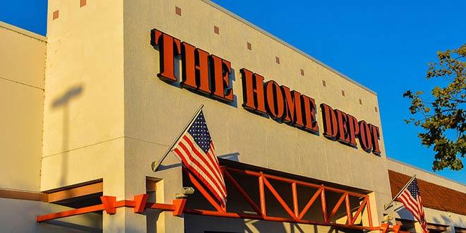 Home Depot Website