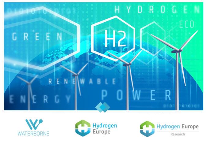 fuelcellsworks, hydrogen europe, waterborne