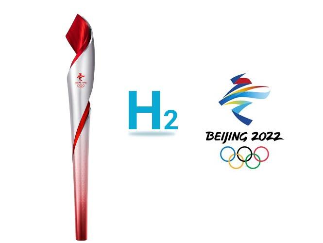 Hydrogen Olympic Torch 2022