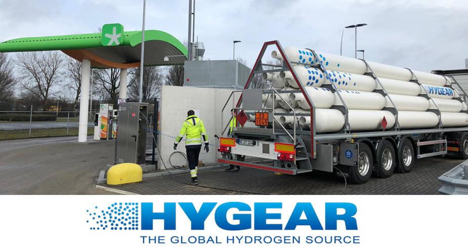 Hygear Supplies Hydrogen To Fuelling Station In Amsterdam