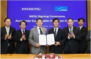 Hyosung Heavy Hydrogen Signing