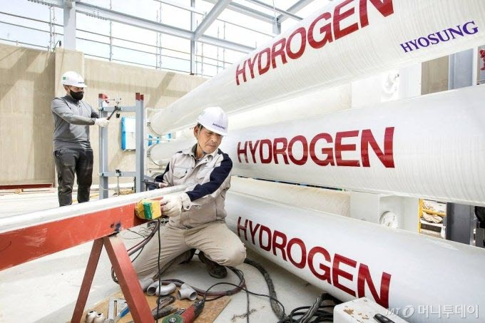 fuelcellsworks, Hyosung Heavy Industries to Construct the World's Largest Liquid Hydrogen Plant