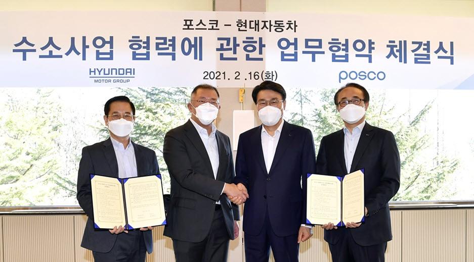 Hyundai and POSCO Forge Partnership in Hydrogen