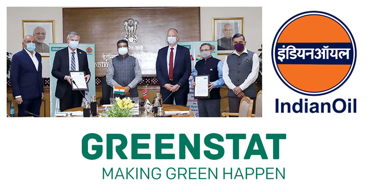 Indian Oil and Greenstat Setting up Centre of Excellence for Hydrogen