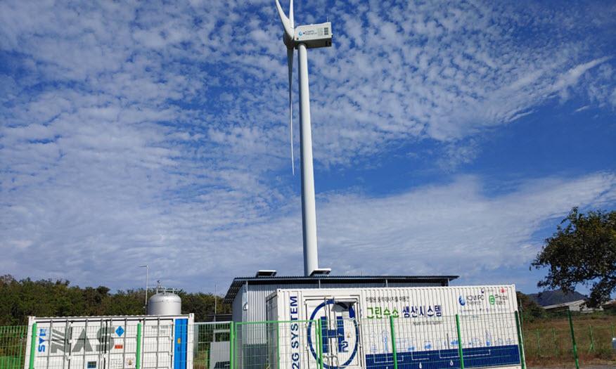 fuelcellsworks, hydrogen from wind power, hydrogen, wind