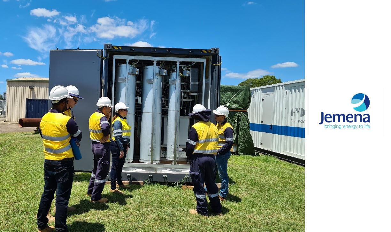Fuel cells works, hydrogen, Jemena, fuel cells, gas