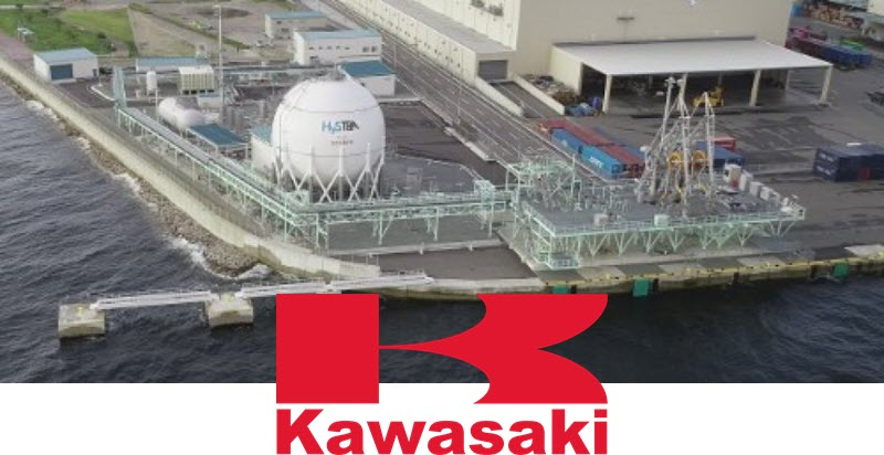 Kawasaki Completes Worlds First Liquefied Hydrogen Receiving Terminal Kobe LH2 Terminal 1