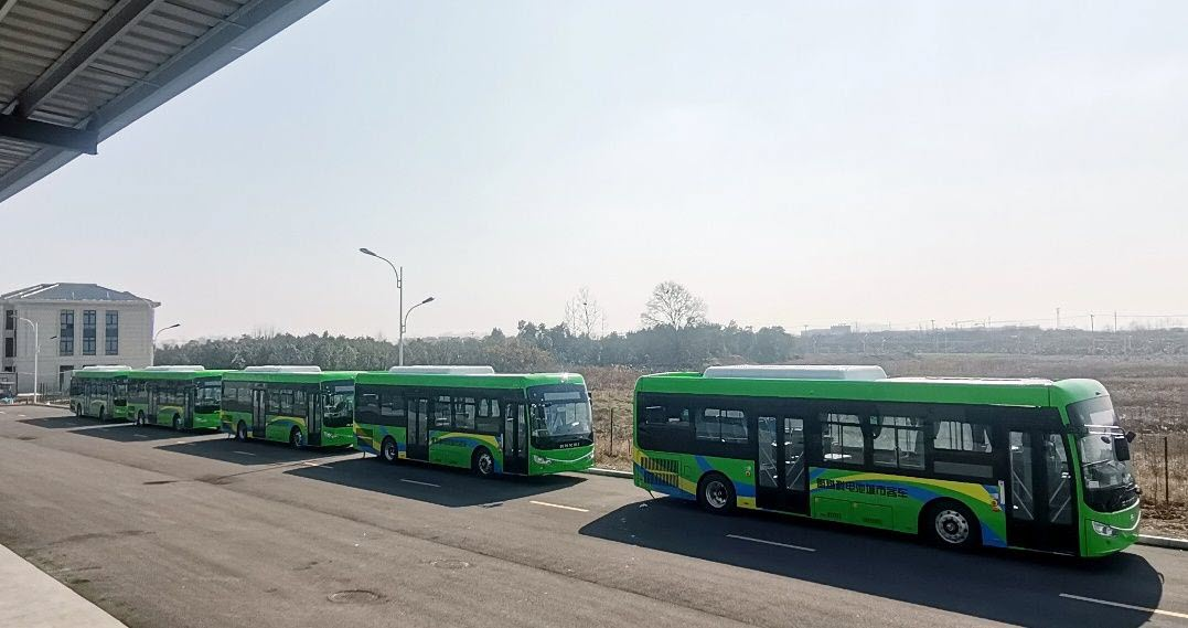 Luan City Hydrogen Fuel Cell Buses Increase by15