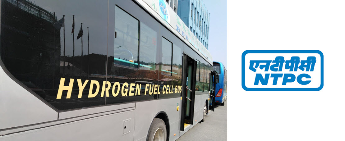 fuelcellsworks, India: NTPC to Start Premium Fuel Cell Bus Service From Delhi to Jaipur