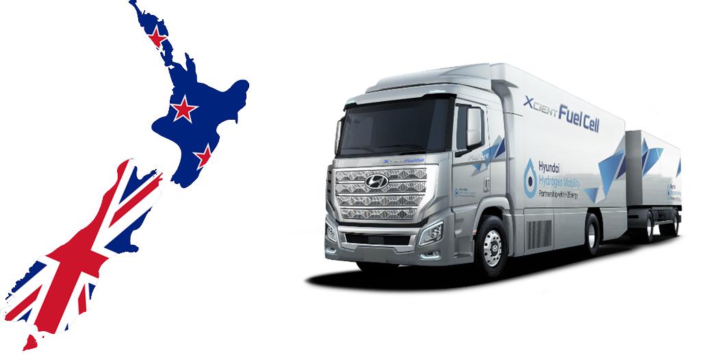 New Zealand Hydrogen Truck