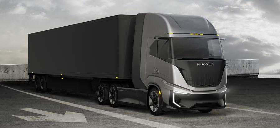 fuelcellsworks, nikola, fuel cells vehicles