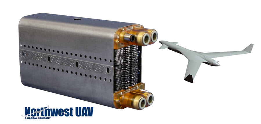 Fuel cells works, Northwest UAV and US Naval Research Laboratory Test a Hydrogen Powered UAV Propulsion System