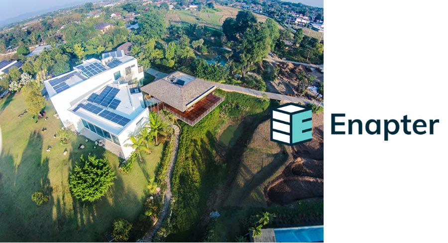 Phi Suea House drone view