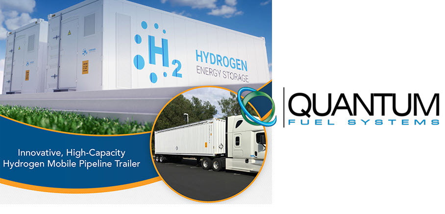 Quantum Fuel Systems Certarus Ltd. to Develop Hydrogen Virtual Pipeline Trailers