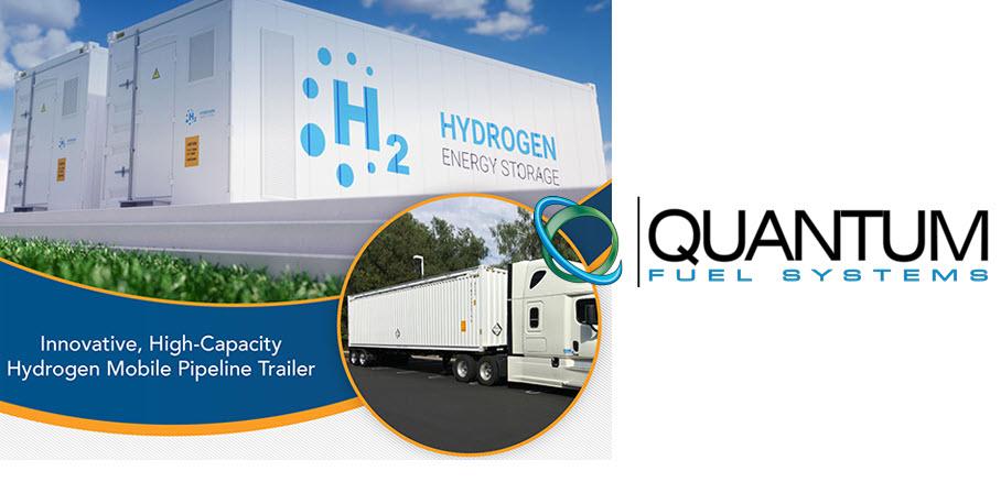 fuelcellsworks, Quantum Fuel Systems & Certarus Ltd. to Develop Hydrogen Virtual Pipeline Trailers