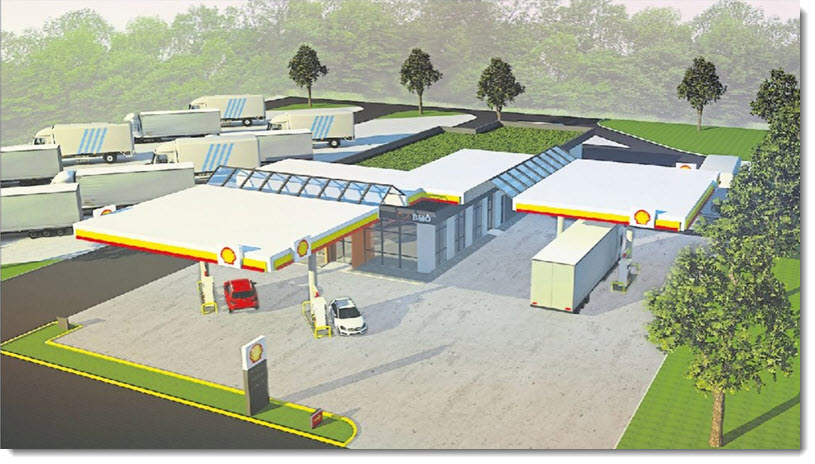 Shell Partners on Building a Hydrogen Fueling Station on A31 Near Heede