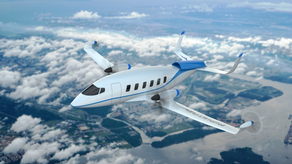 fuelcellsworks, Pipistrel Unveils Miniliner Hydrogen Fuel Cell Aircraft