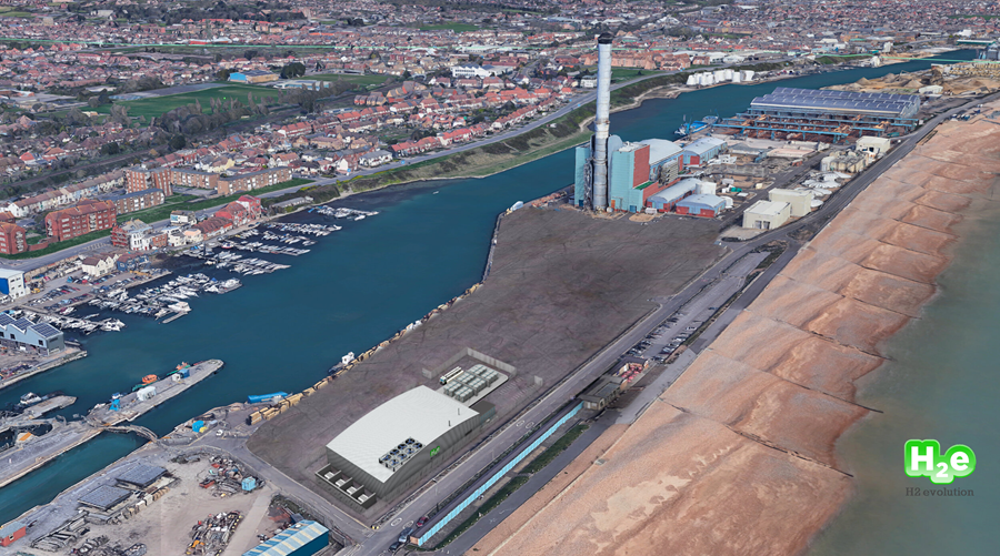 fuelcellsworks, Shoreham Port Partners with H2evolution to Create a Green Hydrogen Hub