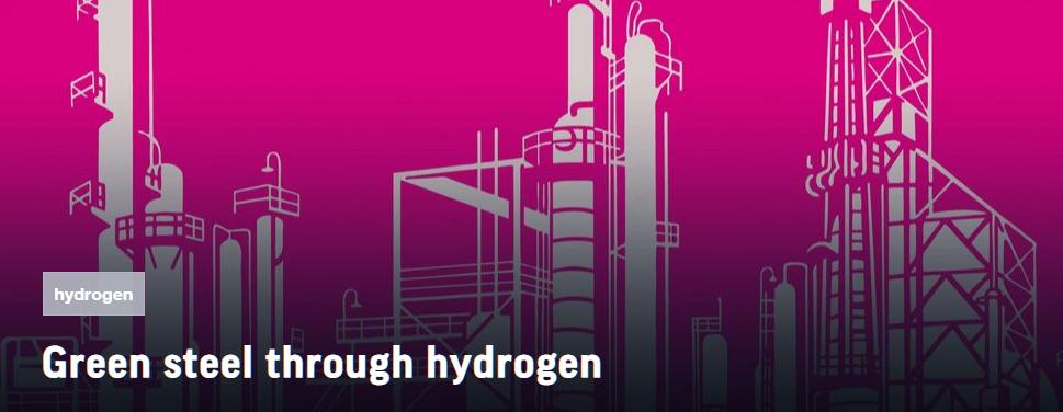 fuelcellsworks, Green Steel Through Hydrogen