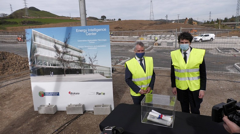 fuelcellsworks, President of the Regional Basque Government Inigo Urkullu Lays First Stone of the EIC, the Future Epicenter of Hydrogen Technology