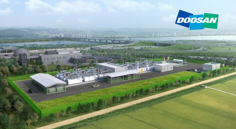 fuelcellsworks, Korea: New Plant Started with 'LPG-LNG Dual Model' of Doosan Fuel Cell