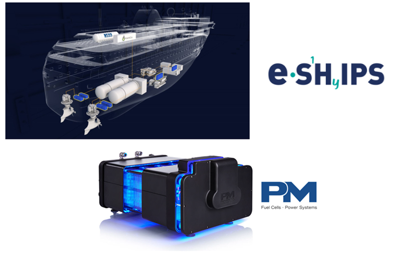 fuelcellsworks, Proton Motor Joins e-SHyIPS as Project Partner