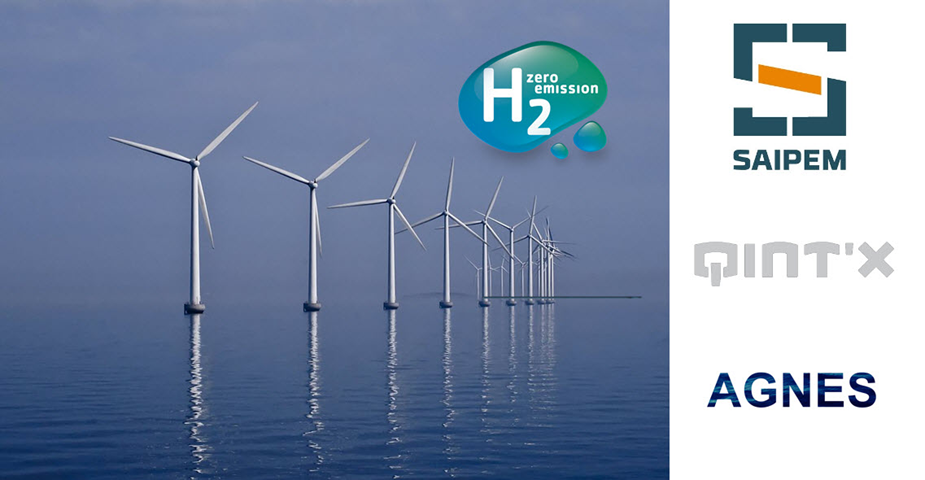 fuelcellsworks, Saipem, AGNES and Qint'x Apply for Permits to Produce Green Hydrogen