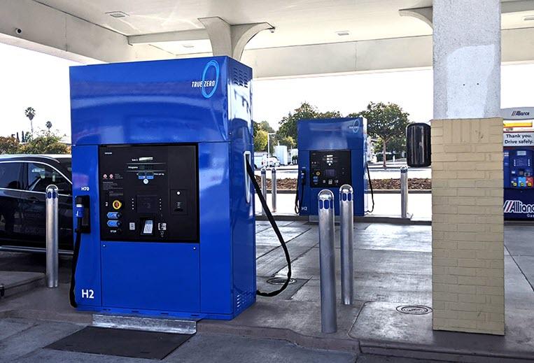 Sunnyvale Hydrogen Station Opens in California