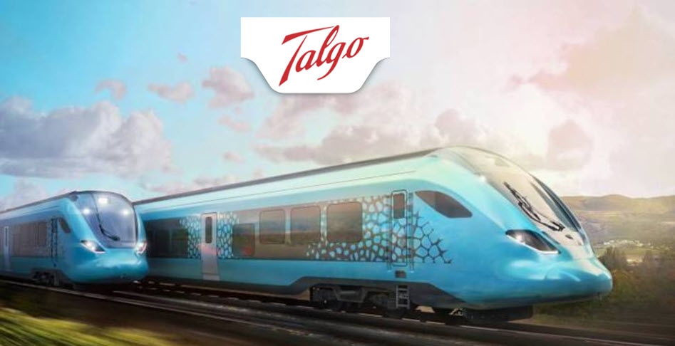Talgos Hydrogen Train Design