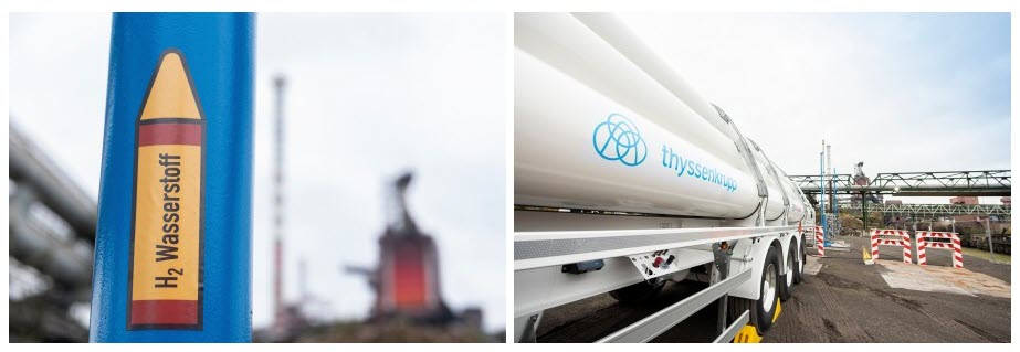 Use of Hydrogen in the Blast Furnace thyssenkrupp Steel Successfully Completes the First Test Phase