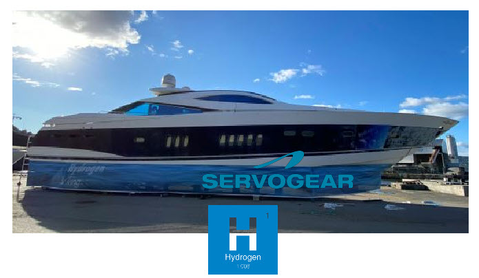 Worlds First and Fastest Ships Powered by Hydrogen Fuel Cells Choose Servogear as Supplier of Propulsion System