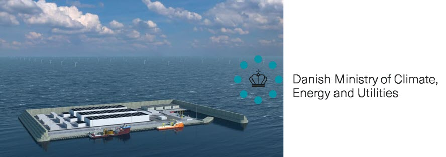 fuelcellsworks, Denmark Decides to Construct the World's First Windenergy Hub as an Artificial Island in the North Sea: To Include Green Hydrogen
