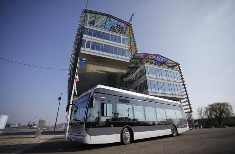 Fuel cells works, France: 11 Hydrogen Buses for Rouen Normandy Metropolis