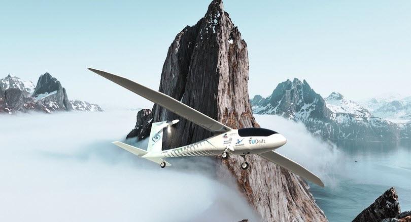 Fuel cells works, AeroDelft Team Reveals Prototype Airplane Powered by Liquid Hydrogen