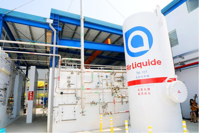 Fuel cells works, Taiwan: Air Liquide's New Hydrogen Plant Opens