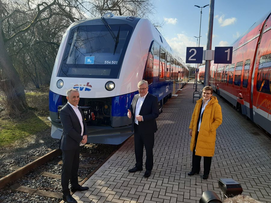 Alstom Delivers First Hydrogen Train to Lower