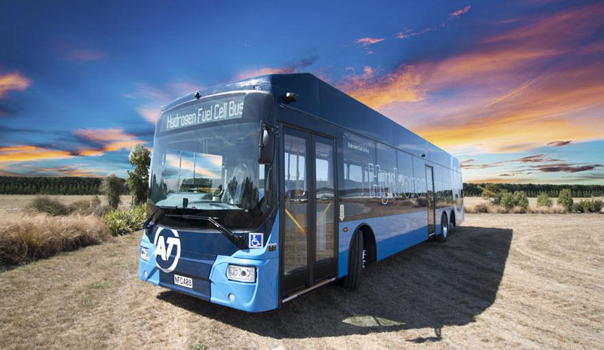 Ballard Power New Zealand Hydrogen Bus