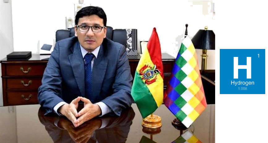 Fuel cells works, Bolivia Ministry of Hydrocarbons Promotes Plan to Generate Green Hydrogen