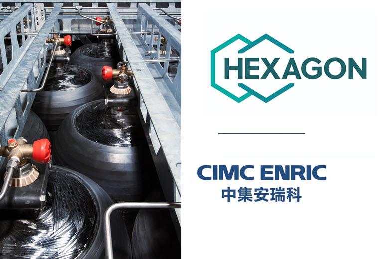 CIMC Enric and Hexagon Purus Establish Hydrogen JV Localizing World class Type 4 Hydrogen Cylinders in China