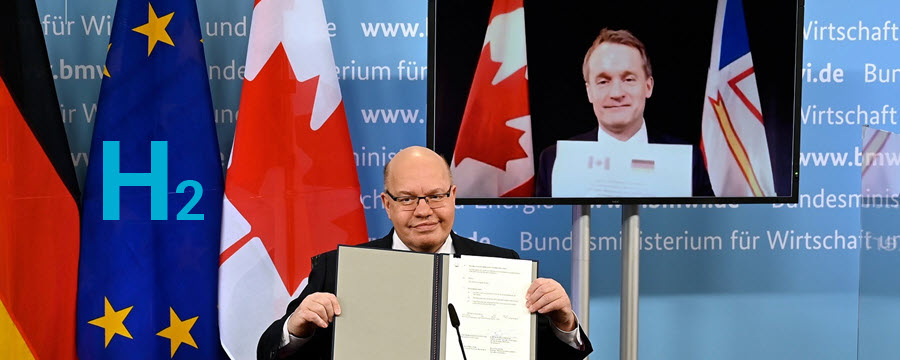 Fuel cells works, Canada, Germany Sign Hydrogen Cooperation Deal