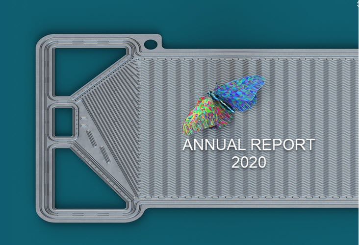 Cell Impact Annual Report 2020