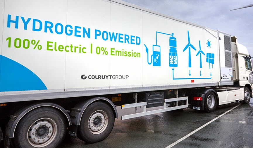 Colruyt Group Hydrogen Trucks