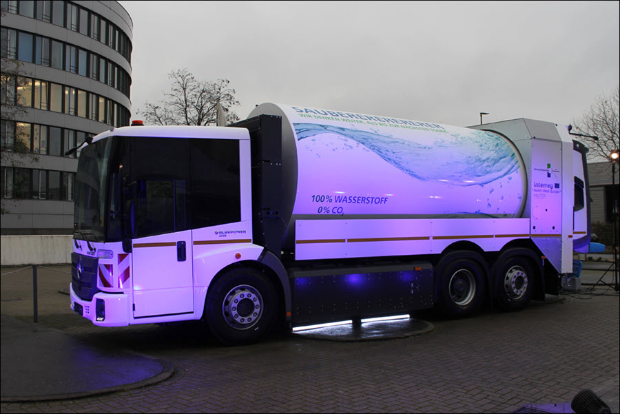 Duisburg to Purchase Six Refuse Collection Vehicles Powered by Hydrogen Fuel Cells