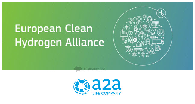 Fuel cells works, A2A Joins the European Hydrogen Alliance