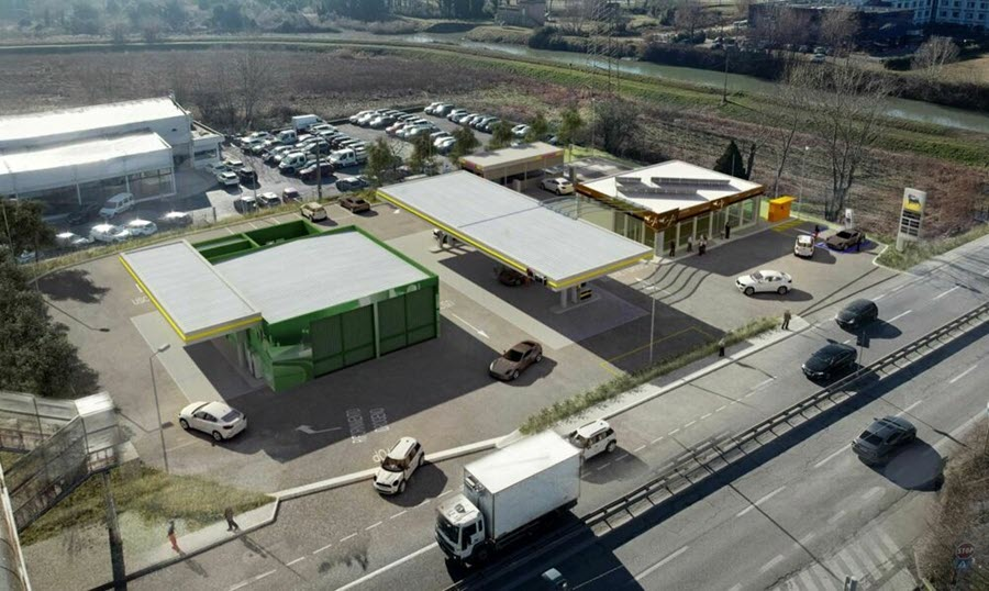 Eni Converts Service Station to Hydrogen in Italy