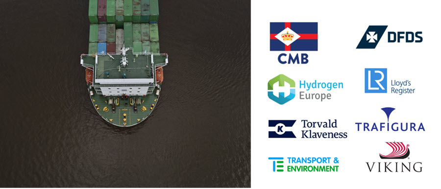 European Shipping Groups Urge EU to Promote Hydrogen and Ammonia in Shipping