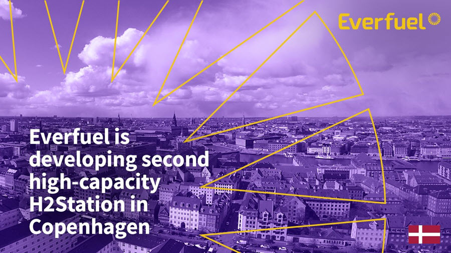 fuelcellsworks, Everfuel Developing Second High-Capacity H2 Station in Copenhagen